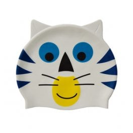 White blue cat
