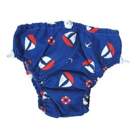 Swim nappy navy marine
