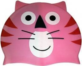 Swim Cap - Pink Cat