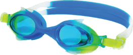 swim googles shark blu lime