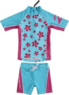sunprotection set hawaii turquoise